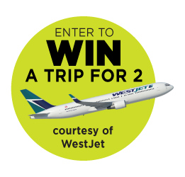 Win a Trip courtesy WestJet